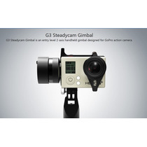Stedycam Feiyu Tech G3 - 2 Eixos Gimbal - Câmera Gopro 4