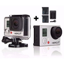 Gopro Camera Hero 3+ Silver Edition Full Wifi Hd Go Pro+32gb