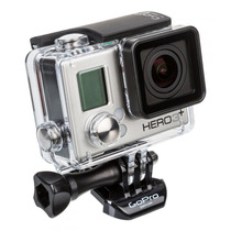 Gopro Camera Hero3+ Silver Edition Full Wi-fi Hd Go Pro