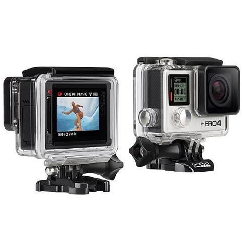 gopro hero 4 silver edition lcd touch go pro hero4 4k r. Black Bedroom Furniture Sets. Home Design Ideas