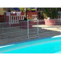 Cerca Para Proteção De Piscinas E Outros (grade) 85 Cm Alt.