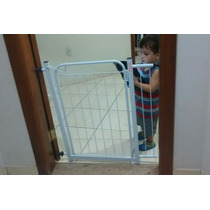 Grade Porta Portão Pet Criança Bebe Cão - Gratis Extensor