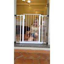 Grade Portão Proteção Criança Bebe Cão - Gratis+2 Extensores
