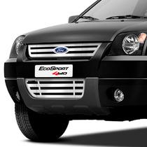 Kit Grade Ecosport Superior + Inferior +letreiro Emblema Eco