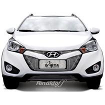 Sobre Grade Hb20x Hyundai Aço Inox Darta 4 Peças Hb20x