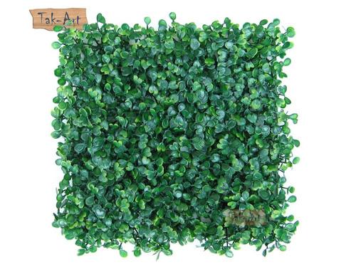 grama sintetica para jardim em curitiba:Grama Artificial Buchinho Muro Inglês 25x25cm Kit 4 Placas – R$ 36,80