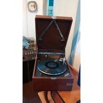 Gramofone Grafonola Antiga