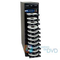 Duplicadora De Dvd E Cd Com 12 Gravadores Lg Gh24nsco