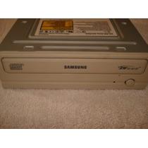Gravador De Cd 52x Samsung Branco Modelo Sh-r522 + Brinde