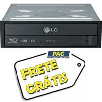 Gravador E Leitor De Dvd/cd Blu Ray Bd 3d Lg Sata Interno