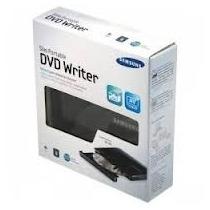 Queimão - Gravador Dvd Externo Usb Slim Samsung Se-208ab