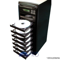 Torre Copiadora De Dvd / Cd Com 8 Gravadores Philips Lite-on