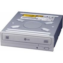 Gravador De Cd + Leitor De Dvd Ide Branco Lg Model Gcc-4521b