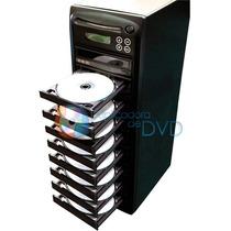 Torre Duplicadora De Dvd E Cd Com 10 Gravadores Samsung