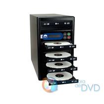 Duplicadora De Dvd E Cd Com 5 Gravadores Lg Gh24nsco