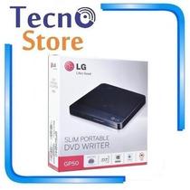 Gravador Dvd Externo Slim Lg Gp50nb40 Usb - 12x Sem Juros!