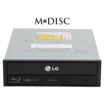 Gravador De Blu-ray Lg Bh16ns40 Sata 16x Black Super Multi