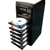 Torre Duplicadora De Dvd E Cd Com 7 Gravadores Samsung