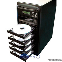 Torre Copiadora De Dvd / Cd Com 6 Gravadores Philips Lite-on