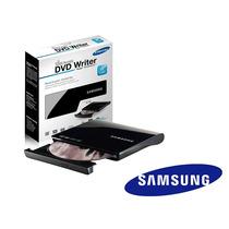Gravador Leitor Dvd / Cd Externo Samsung Slim Usb Box Se208
