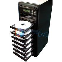 Torre Duplicadora De Dvd E Cd Com 8 Gravadores Samsung