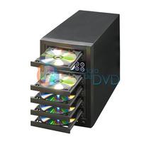 Duplicadora De Dvd E Cd Com 5 Gravadores Pionner