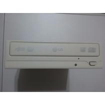 Gravador De Dvd/cd-rw Ide Lg Branco Modelo Gsa-h20n Usado