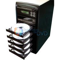 Torre Duplicadora De Dvd E Cd Com 6 Gravadores Samsung