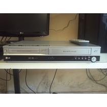 Gravador De Dvd E Conversor Vhs Combo Lg Rc7000b
