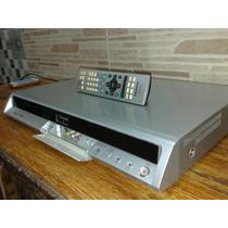 Gravador De Mesa Panasonic Dmr-eh55 Dvd-r Hdd 200gb Sd Hdmi