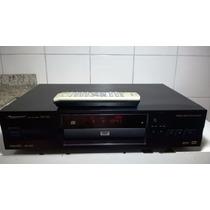 Dvd Player Pioneer Dv 525 Controle Remoto Reproduz Bem!