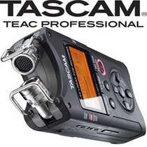 Gravador Tascam Dr-40 Áudio E Voz + 2gb + Manual Portugues