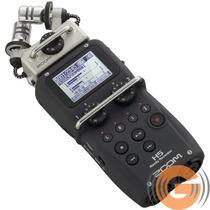 Gravador Áudio Zoom H5 Digital Profissional - Goias Musical