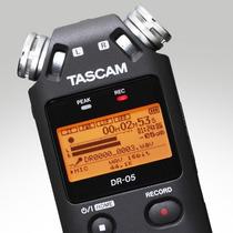 Gravador Tascam Dr-05 Novo _ Melhor Que Zoom H4n H5