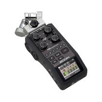 Gravador Digital Portátil Metrônomo Afinador + Case H6 Zoom