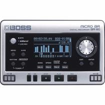 Gravador Boss Micro Br80 Guitarra Voz Violão Interface Ve-20