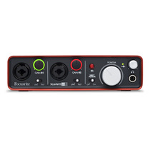 Focusrite Scarlett 2i2 Interface Usb Placa De Gravacao