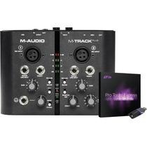 M-audio M-track Plus + Pro Tools Express + Ilok 2