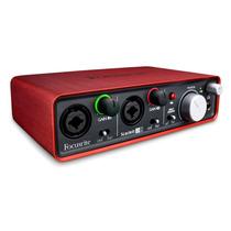 Focusrite Scarlett 2i2 Usb Audio Interface Red (mbsons)