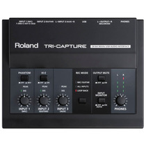 Roland Ua-33 Tri-capture - Interface De Áudio Usb + Garantia