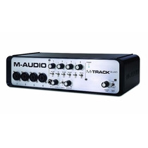M-audio M-track Quad + Pro Tools Express + Ilok 2 Ignite