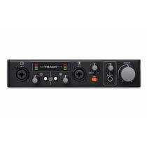 M-audio M-track Plus V2 . Interface De Áudio. Loja . Gtia !