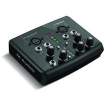 12x Sem Juros - M-audio M-track Audio/midi Interface Placa