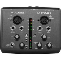 Interface M-audio M-track Mtrack M Track Superior Fast Track
