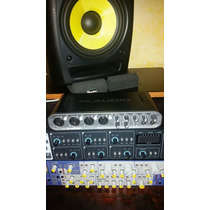 Placa M Audio Fast Track Ultra 8x8 Interface E Software