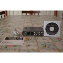Interface Placa M Audio Fast Track Pro 4x4 Usb Com Pro Tools