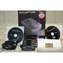 Placa Interface De Audio Compacta Roland Duo Capture Usb