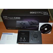 Placa Interface M Audio Fast Trac C400 4x6 Mais Pro Tools