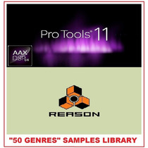 50 Plug-ins Generos Efeitos P/ Protools Express10 Reason7