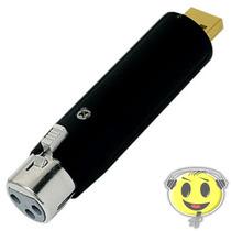 Interface Conversor Microfone Usb Adaptador O F E R T A